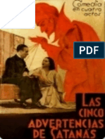 Las Cinco Advertencias de Satanas - Enrique Jardiel Poncela