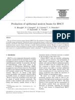 BNCT- Sources of Epithermal Neutron Beam