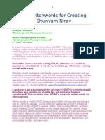 Master Switchwords for Creating Wealth by Shunyam Nirav