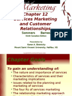 Services Marketing and Customer Relationships