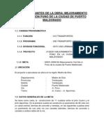 Datos Importantes de La Obra Del Jiron Puno