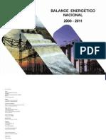 Balance Energetico Nacional 2000 - 2011