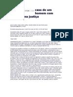 Caso de Um Homem Com Processo Na Justiça
