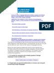 2nd Language Acquisition Test
