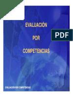 Evaluacion de Competencias Magister