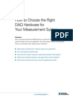 2-How to Choose Daq Hardware