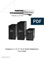 Kanguru Duplicator User Guide