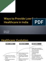 Healthcare Ishan Amit IIM Indore