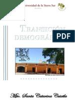 Situación Demográfica y Epidemiológica del Municipio de Santa Catarina Cuixtla, Oaxaca 2013
