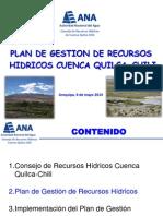Plan de Gestión de Los Recursos Hídricos Cuenca Quilca-chili