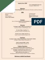 dh resume