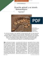 Etnofarmacología - La Automedicación Animal y Su Interés Farmacológico