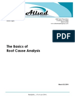 The Basics of Root Cause Analysis