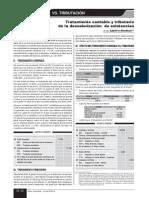 Impuesto Diferido Desvalorizacion Caso 2013