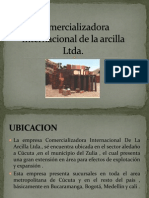 Comercializadora Internacional de La Arcilla Ltda2