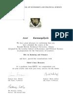 LSE Certificates