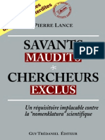 Savants Maudits - Chercheurs Exclus 1