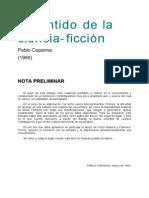 Capanna, Pablo - El Sentido de La Ciencia-ficción