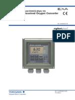Medidor de Oxigeno Yokogawa D0402-01E