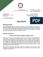 Wayne County Prosecutor News Updates April 20 - April 26, 2014
