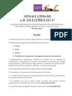 Certame Letras Galegas 2014