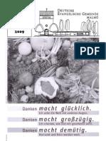 Gemeindebrief 03/2009