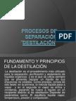 Diapositivas Destilacion FINAL