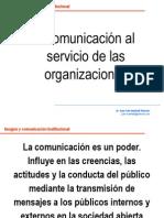 La Comunicacin Al Servicio de Las Organizaciones 943