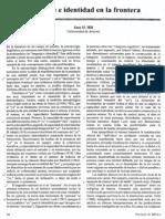 5.5 Hill, Jane H. Lengua e Identidad en La Frontera, Pp.50-56