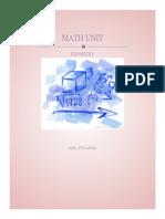 geometry math unit
