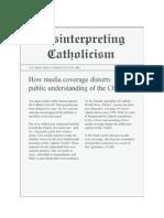 Misinterpreting Catholicism