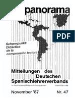 Werner Ein Vergleichender Test Dreier Wörterbücher Spanisch-Deutsch-Deutsch-Spanisch in Hispanorama 47 1987 159-171!49!1988 152-167 50 168-175