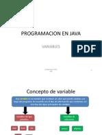 PROGRAMACION en JAVA_variables y Operadores