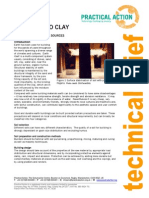 Additives to Clay - Organic Additives