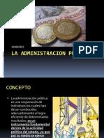Unidad II Derecho Administrativo