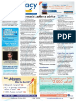 Pharmacy Daily for Wed 07 May 2014 - Pharmacist asthma advice, New PSA ceo, Multiple inhaler failure, Health, Beauty and New Products and much more