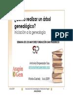 Como Hacer Un Arbol Genealogico