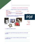 EXAMEN 1 CATESISMO (2 HOJAS)