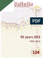 IUSS Bulletin #124 (May 2014)