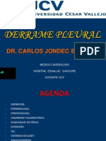 Derrame Pleural Setiembre 2012