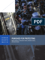 CASTIGADOS POR PROTESTAR (INGLES) HUMAN RIGHTS WATCH.pdf