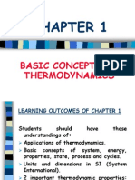 Chapter1 Basic Concepts of Thermodynamics