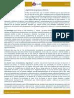 Trabajo 5 - Educación a Distancia