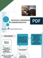 Proceso Contensioso Administrativo