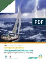 Annual Report ANTAM 2013