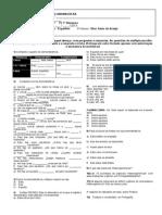 Lista 9º Ano P1 1º BIM.2013 - Demonstrativos e Politica
