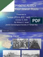 Jewish Genealogy for Jet Setters-Rev for IAJGS