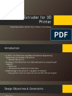 Recycling and Filament Extruder for 3D Printer Presentation