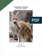 australian animals olivia cummins