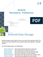 Android Chapter14 Preferences